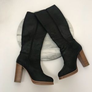 """8c5e28570 wittner Shoes - Wittner """"Gail"""" tall leather black boots"""
